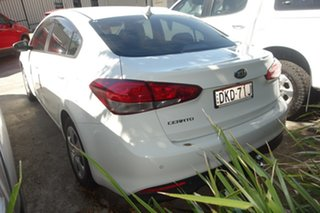 2016 Kia Cerato YD MY17 SLi White 6 Speed Sports Automatic Sedan.