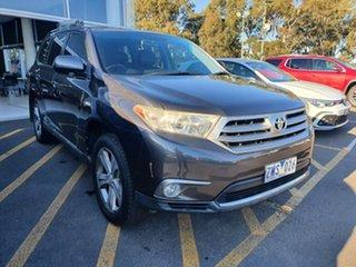 2011 Toyota Kluger GSU40R MY11 KX-S 2WD Grey 5 Speed Sports Automatic Wagon.