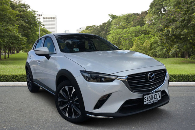 Demo Mazda CX-3 DK2W7A sTouring SKYACTIV-Drive FWD Paradise, 2021 Mazda CX-3 DK2W7A sTouring SKYACTIV-Drive FWD 6 Speed Sports Automatic Wagon