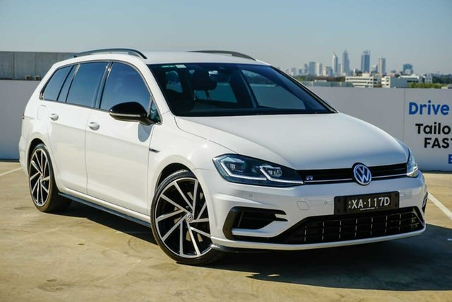 Used Volkswagen Golf 7.5 MY18 R DSG 4MOTION Grid Edition Osborne Park, 2018 Volkswagen Golf 7.5 MY18 R DSG 4MOTION Grid Edition White 7 Speed Sports Automatic Dual Clutch