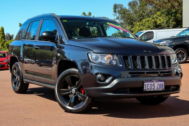 Used Jeep Compass MK MY14 Sport CVT Auto Stick Cannington, 2014 Jeep Compass MK MY14 Sport CVT Auto Stick Silver 6 Speed Constant Variable Wagon