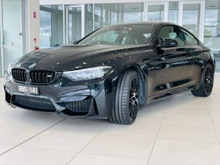 2017 BMW M4 F82 Competition M-DCT Black 7 Speed Sports Automatic Dual Clutch Coupe.