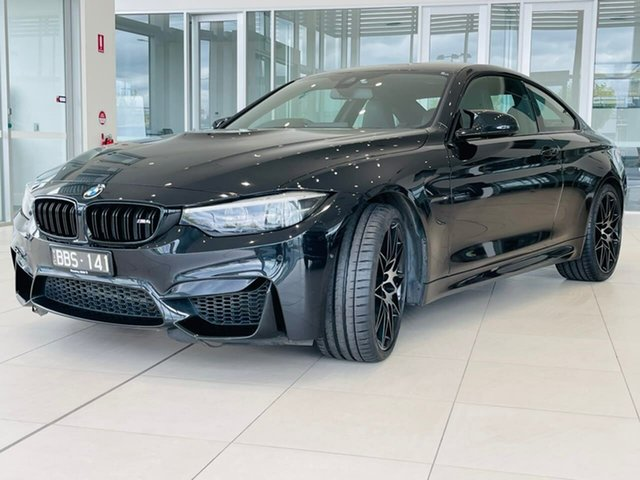 Used BMW M4 F82 Competition M-DCT Essendon Fields, 2017 BMW M4 F82 Competition M-DCT Black 7 Speed Sports Automatic Dual Clutch Coupe