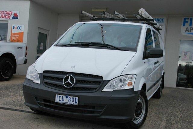 Used Mercedes-Benz Vito MY14 113CDI SWB Wendouree, 2014 Mercedes-Benz Vito MY14 113CDI SWB White 5 Speed Automatic Van