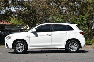 2012 Mitsubishi ASX XA MY12 Activ 2WD White 5 Speed Manual Wagon