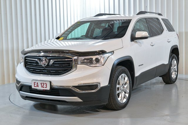 Used Holden Acadia AC MY19 LT 2WD Hendra, 2019 Holden Acadia AC MY19 LT 2WD White 9 Speed Sports Automatic Wagon