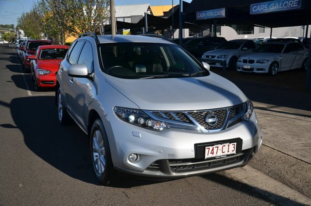 Used Nissan Murano Z51 MY12 ST Toowoomba, 2013 Nissan Murano Z51 MY12 ST Silver Continuous Variable Wagon