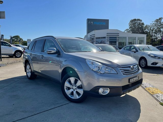 Used Subaru Outback B5A MY10 2.5i Lineartronic AWD Glendale, 2010 Subaru Outback B5A MY10 2.5i Lineartronic AWD Silver 6 Speed Constant Variable Wagon
