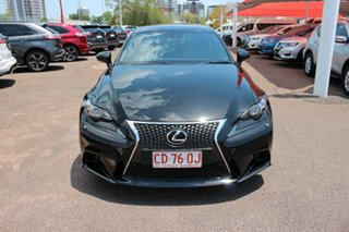 2014 Lexus IS250 GSE30R IS250 F Sport Starlight Black 6 Speed Automatic Sedan.