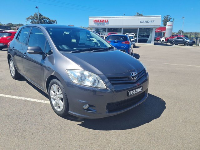 Used Toyota Corolla ZRE182R Ascent Sport Cardiff, 2012 Toyota Corolla ZRE182R Ascent Sport Grey 6 Speed Manual Hatchback