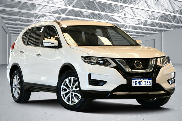 Used Nissan X-Trail T32 ST X-tronic 2WD Perth Airport, 2017 Nissan X-Trail T32 ST X-tronic 2WD Ivory Pearl 7 Speed Constant Variable Wagon