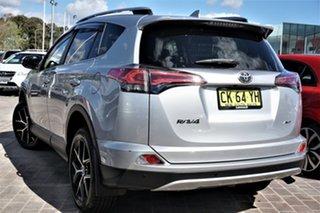 2017 Toyota RAV4 ASA44R GXL AWD Silver 6 Speed Sports Automatic Wagon