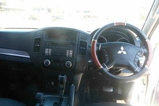 2010 Mitsubishi Pajero NT MY11 GLX White 5 Speed Sports Automatic Wagon