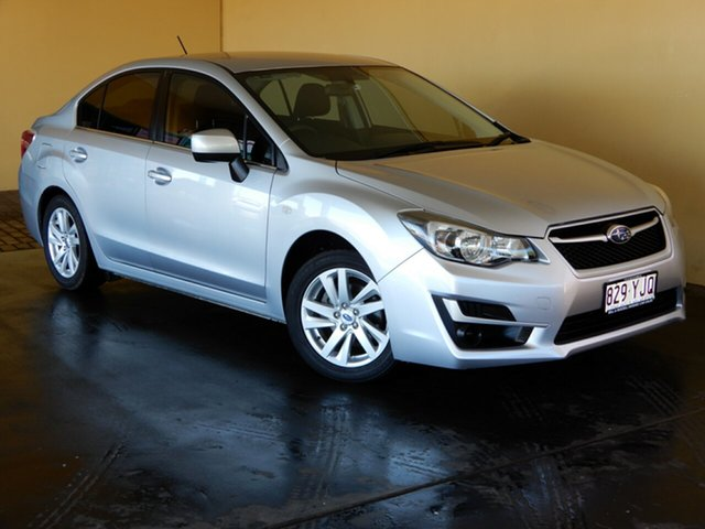 Used Subaru Impreza MY16 2.0I (AWD) Toowoomba, 2016 Subaru Impreza MY16 2.0I (AWD) Silver Continuous Variable Sedan