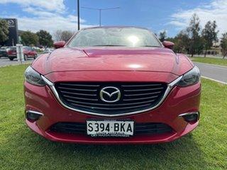 2016 Mazda 6 GJ1022 Touring SKYACTIV-Drive Soul Red 6 Speed Sports Automatic Sedan.