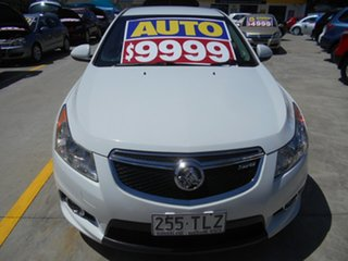 2011 Holden Cruze JH Series II MY11 SRi White 6 Speed Manual Sedan.