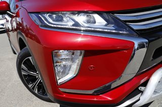 2017 Mitsubishi Eclipse Cross YA MY18 Exceed AWD Red Diamond 8 Speed Constant Variable Wagon.