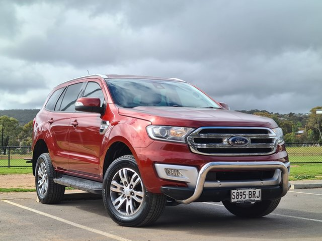 Used Ford Everest UA Trend St Marys, 2015 Ford Everest UA Trend Red 6 Speed Sports Automatic SUV