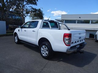 2020 Ford Ranger PX MkIII 2021.25MY XLT Double Cab Arctic White 6 Speed Automatic Double Cab Chassis.