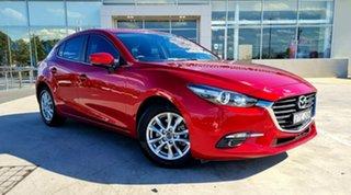2018 Mazda 3 BN5278 Maxx SKYACTIV-Drive Sport Soul Red 6 Speed Sports Automatic Sedan.