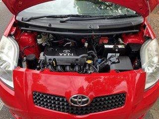 2006 Toyota Yaris NCP90R YR Cherry 4 Speed Automatic Hatchback.