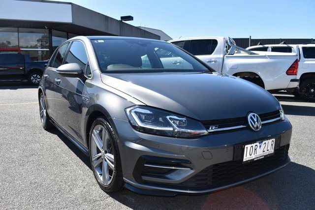 Used Volkswagen Golf 7.5 MY19 110TSI DSG Highline Wantirna South, 2018 Volkswagen Golf 7.5 MY19 110TSI DSG Highline Grey 7 Speed Sports Automatic Dual Clutch