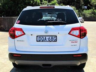 2016 Suzuki Vitara LY S Turbo 4WD White 6 Speed Sports Automatic Wagon