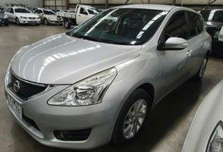 2014 Nissan Pulsar C12 ST-L Silver 1 Speed Constant Variable Hatchback
