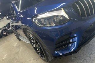 2017 Mercedes-Benz GLC-Class X253 GLC43 AMG 9G-Tronic 4MATIC Blue 9 Speed Sports Automatic Wagon.