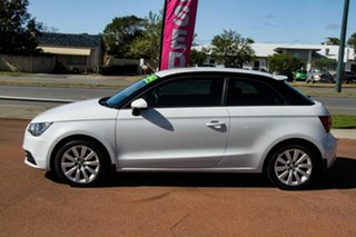 2013 Audi A1 8X MY13 Attraction Sportback S Tronic White 7 Speed Sports Automatic Dual Clutch