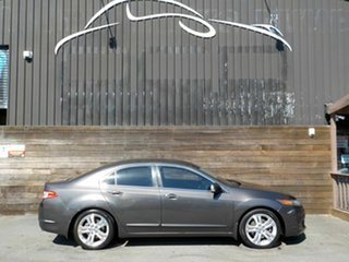 2010 Honda Accord Euro CU MY10 Luxury Grey 6 Speed Manual Sedan.