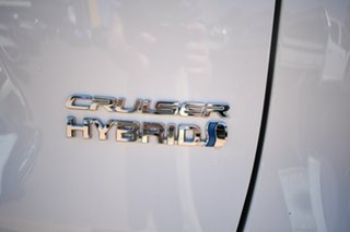 2021 Toyota RAV4 Axah52R Cruiser (2WD) Hybrid White Continuous Variable Wagon