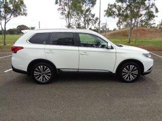 2019 Mitsubishi Outlander ZL MY19 LS AWD White 6 Speed Sports Automatic Wagon.