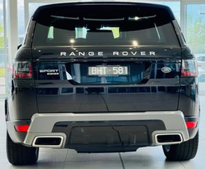 2019 Land Rover Range Rover Sport L494 19.5MY SE Black 8 Speed Sports Automatic Wagon