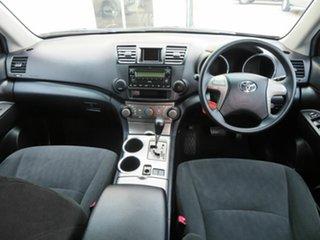 2010 Toyota Kluger GSU40R KX-R (FWD) 7 Seat Silver 5 Speed Automatic Wagon