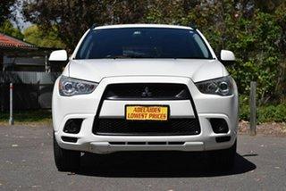 2012 Mitsubishi ASX XA MY12 Activ 2WD White 5 Speed Manual Wagon.