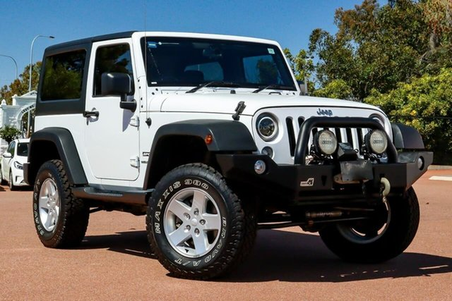 Used Jeep Wrangler JK MY2015 Sport Cannington, 2015 Jeep Wrangler JK MY2015 Sport White 5 Speed Automatic Softtop