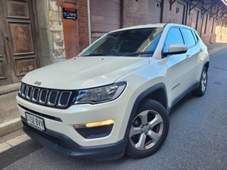 2017 Jeep Compass M6 MY18 Sport FWD White 6 Speed Automatic Wagon.