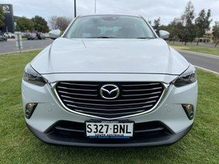 2016 Mazda CX-3 DK2W7A sTouring SKYACTIV-Drive Ceramic White 6 Speed Sports Automatic Wagon.