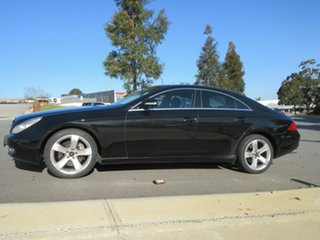 2006 Mercedes-Benz CLS500 219 Black 7 Speed Automatic G-Tronic Coupe.