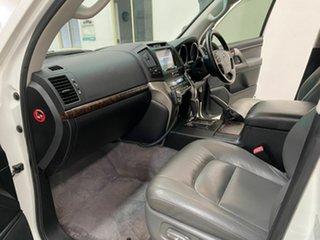 2010 Toyota Landcruiser VDJ200R MY10 VX White 6 Speed Sports Automatic Wagon