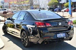 2016 Holden Commodore VF II MY16 SV6 Black Black 6 Speed Sports Automatic Sedan.