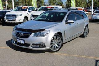 2014 Holden Calais VF MY14 V Sportwagon Silver 6 Speed Sports Automatic Wagon.