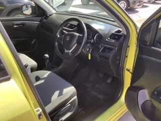 2013 Suzuki Swift FZ RE2 Yellow 5 Speed Manual Hatchback