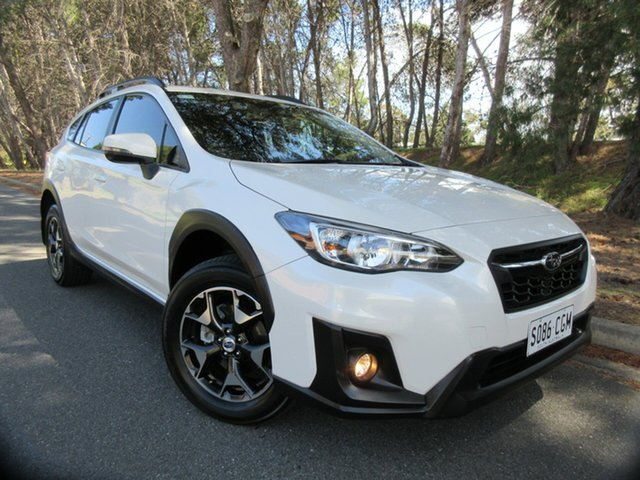 Used Subaru XV G5X MY18 2.0i-L Lineartronic AWD Reynella, 2017 Subaru XV G5X MY18 2.0i-L Lineartronic AWD White 7 Speed Constant Variable Wagon