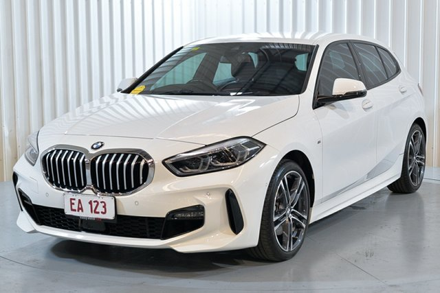 Used BMW 1 Series F40 118i DCT Steptronic M Sport Hendra, 2020 BMW 1 Series F40 118i DCT Steptronic M Sport White 7 Speed Sports Automatic Dual Clutch