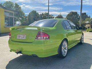 2006 Ford Falcon BF Mk II XR6 Green 4 Speed Sports Automatic Sedan