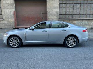 2010 Jaguar XF X250 MY10 Luxury Silver 6 Speed Sports Automatic Sedan
