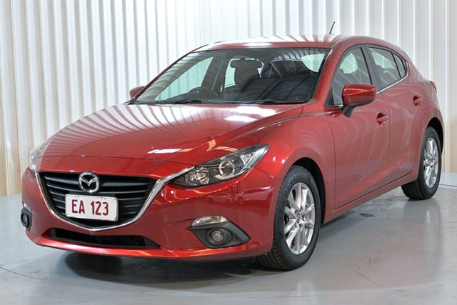 Used Mazda 3 BM5476 Maxx SKYACTIV-MT Hendra, 2014 Mazda 3 BM5476 Maxx SKYACTIV-MT Red 6 Speed Manual Hatchback