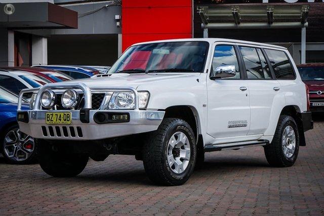 Used Nissan Patrol GU 7 MY10 ST Parramatta, 2010 Nissan Patrol GU 7 MY10 ST White 4 Speed Automatic Wagon